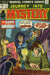 Journey into Mystery Vol. 2 (Marvel - 1972) -12- The Kiss of the Undead!!
