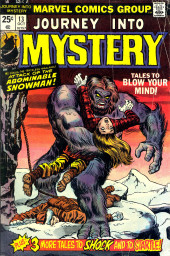 Journey into Mystery Vol. 2 (Marvel - 1972) -13- Attack of the Abominable Snowman!
