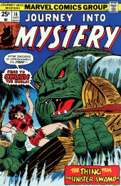 Journey into Mystery Vol. 2 (Marvel - 1972) -18- The Thing from the Sinister Swamp!