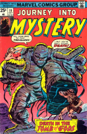 Journey into Mystery Vol. 2 (Marvel - 1972) -19- Death in the Tomb of Gods