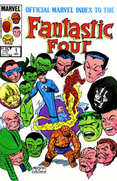 Official Marvel Index to the Fantastic Four (The) (Marvel comics - 1985) -1- Issue # 1
