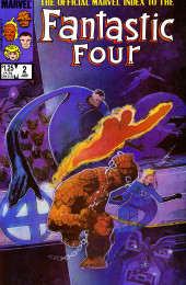 Official Marvel Index to the Fantastic Four (The) (Marvel comics - 1985) -2- Issue # 2