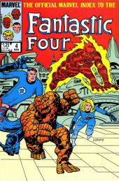Official Marvel Index to the Fantastic Four (The) (Marvel comics - 1985) -4- Issue # 4