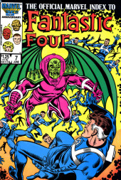 Official Marvel Index to the Fantastic Four (The) (Marvel comics - 1985) -7- Issue # 7
