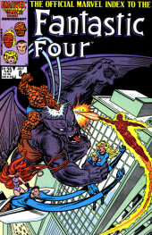 The official Marvel Index to the Fantastic Four (Marvel comics - 1985) -8- Issue # 8
