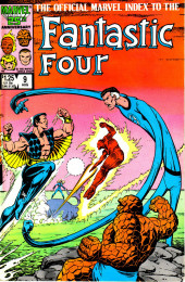 Official Marvel Index to the Fantastic Four (The) (Marvel comics - 1985) -9- Issue # 9