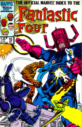 The official Marvel Index to the Fantastic Four (Marvel comics - 1985) -10- Issue # 10