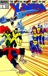 The official Marvel index to the X-Men (1987) -2- Issue # 2