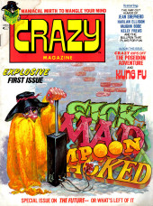 Crazy magazine (Marvel comics - 1973) -1- Explosive First Issue