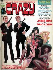 Crazy magazine (Marvel comics - 1973) -2- 007-11s Maddest Mission Live and Let Spy !