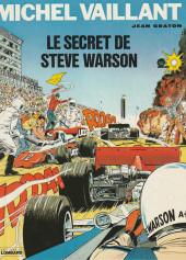 Michel Vaillant -28a1984- Le secret de Steve Warson
