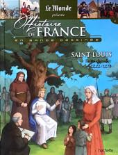 Histoire de France en bande dessinée -15- Saint Louis le roi chevalier 1226-1270