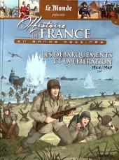 Histoire de France en bande dessinée -54- Les Débarquements et la Libération 1944-1945