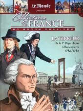 Histoire de France en bande dessinée -33- La Terreur de la 1er République à Robespierre 1792-1794