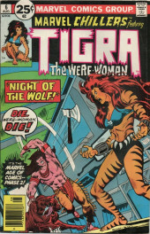 Marvel Chillers (Marvel comics - 1975) -6- Night of the wolf!