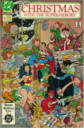 Christmas with the super-heroes (DC comics - 1988) -2- Silent night