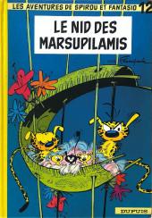Spirou et Fantasio -12b1977a- Le Nid des Marsupilamis