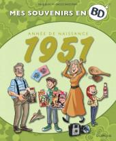 Mes souvenirs en BD -12- Année de naissance 1951