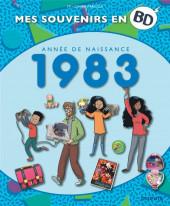 Mes souvenirs en BD -44- Année de naissance 1983