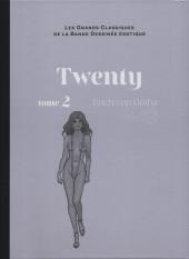 Les grands Classiques de la Bande Dessinée érotique - La Collection -115110- Twenty - tome 2