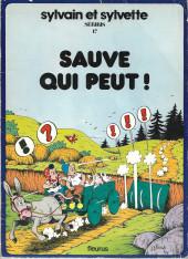 Sylvain et Sylvette -17- Sauve qui peut !