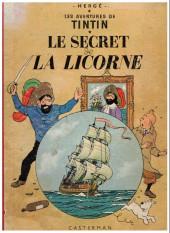 Tintin (Historique) -11B15- Le secret de la licorne