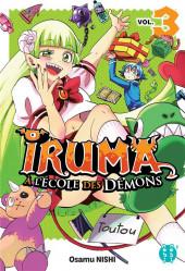 Iruma à l'École des Démons -3- Tome 3