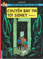Tintin (en langues étrangères) -22Vietnamien- Chuyen bay 714 toi sidney