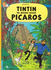 Tintin (en langues étrangères) -23Vietnamien- Tintin va nhung nguoi picaros