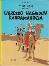 Tintin (en langues régionales) -9Basque- Urrezko hagindun karramarroa