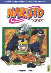 Naruto (Hachette) -2- L'intégrale - Tome 2