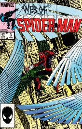 Web of Spider-Man Vol. 1 (Marvel Comics - 1985) -3- Iron Bars Do Not A Prison Make