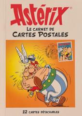 Astérix (Autres) - Astérix le carnet de cartes postales