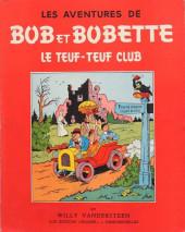 Bob et Bobette -6- Le Teuf-Teuf Club