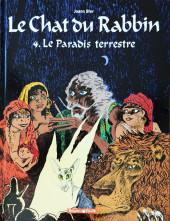 Le chat du Rabbin -4a2017- Le paradis terrestre