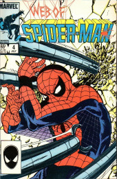 Web of Spider-Man Vol. 1 (Marvel Comics - 1985) -4- Arms and the Man!