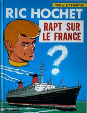 Ric Hochet -6d1987- Rapt sur le France