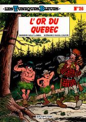 Les tuniques Bleues -26a1998- L'or du Québec