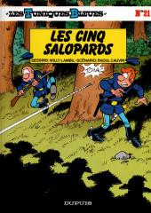 Les tuniques Bleues -21a2000- Les cinq salopards