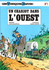 Les tuniques Bleues -1d2001- Un chariot dans l'Ouest