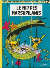 Spirou et Fantasio -12Spirou- Le nid des marsupilamis