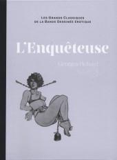 Les grands Classiques de la Bande Dessinée érotique - La Collection -116129- L'Enquêteuse
