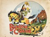 Blondin et Cirage -1a1947- Blondin et Cirage en Amérique