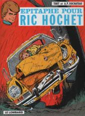 Ric Hochet -17f1999- Épitaphe pour Ric Hochet