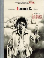 Les grands Classiques de la BD Historique Vécu - La Collection -28- Giacomo C. - Tome VI : La Bague des Fosca