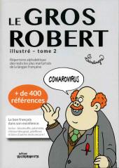 (AUT) Lindingre -2- Le Gros Robert illustré - Tome 2