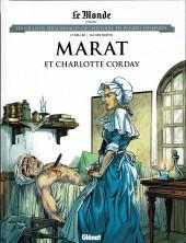 Les grands Personnages de l'Histoire en bandes dessinées -49- Marat et Charlotte Corday