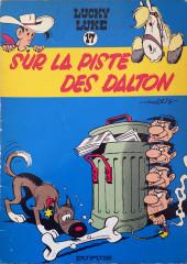 Lucky Luke -17b1972- Sur la piste des Daltons