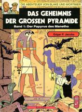 Blake und Mortimer (Die Abenteuer von) -1- Das Geheimnis der grossen Pyramide (Band 1)