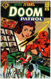 Doom Patrol Vol.2 (DC Comics - 1987) -SP1- Official index 1/2